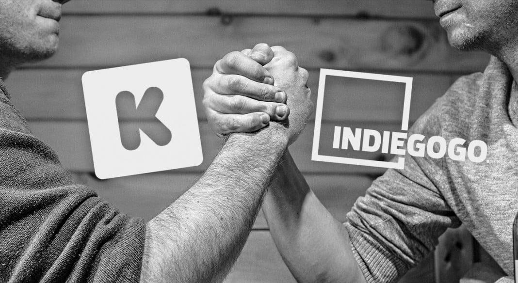 Sociofinancement Kickstarter ou Indiegogo