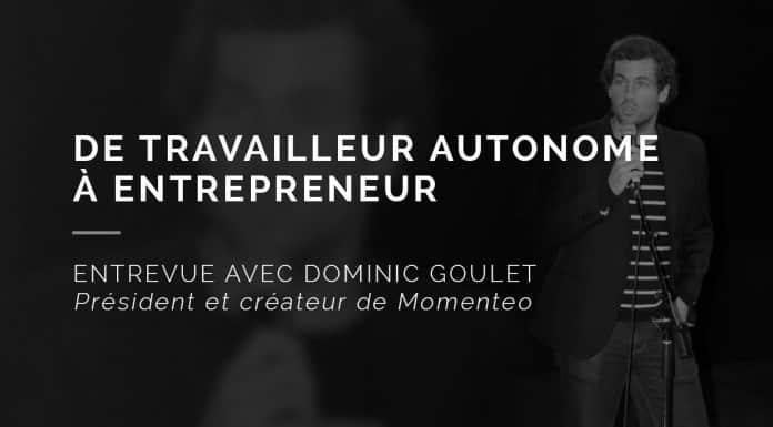 De travailleur autonome à entrepreneur