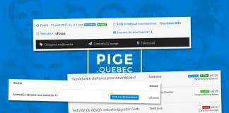 Nouvelles fonctionnalités PIGE.quebec