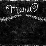 Au menu