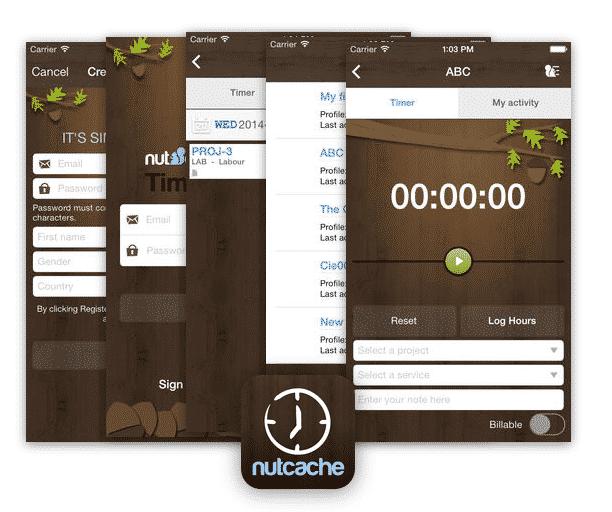 Travaileur autonome facturation : L'app Nutcache pour la gestion du temps!