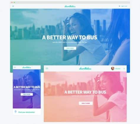 Jean-Philippe Dubois, Design web pour Share a Bus