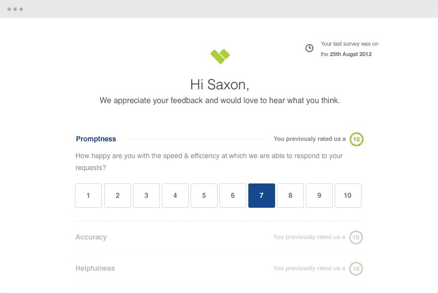 Plateforme de sondage de satisfaction client: Client Heartbeat