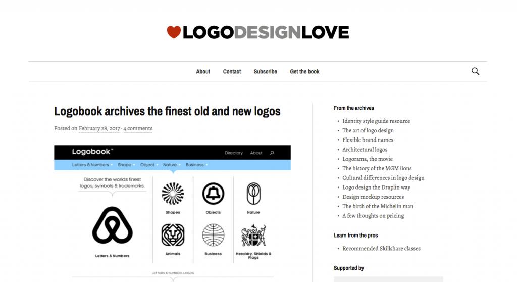 Logo Design Love, dédié à nous inspirer et nous délivrer le meilleur contenu à propos du design de logo, depuis 2008.