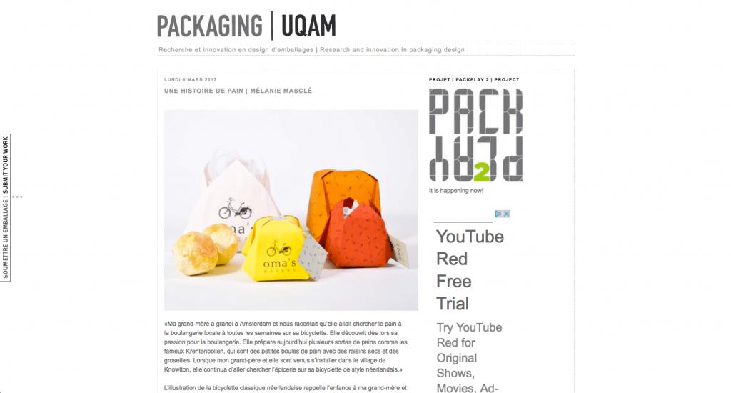 Fondé par Sylvain Allard, professeur à l'École de Design de l'UQAM, ce blog a pour mission de publier les projets de ses étudiants et d'autres designers à travers le monde.