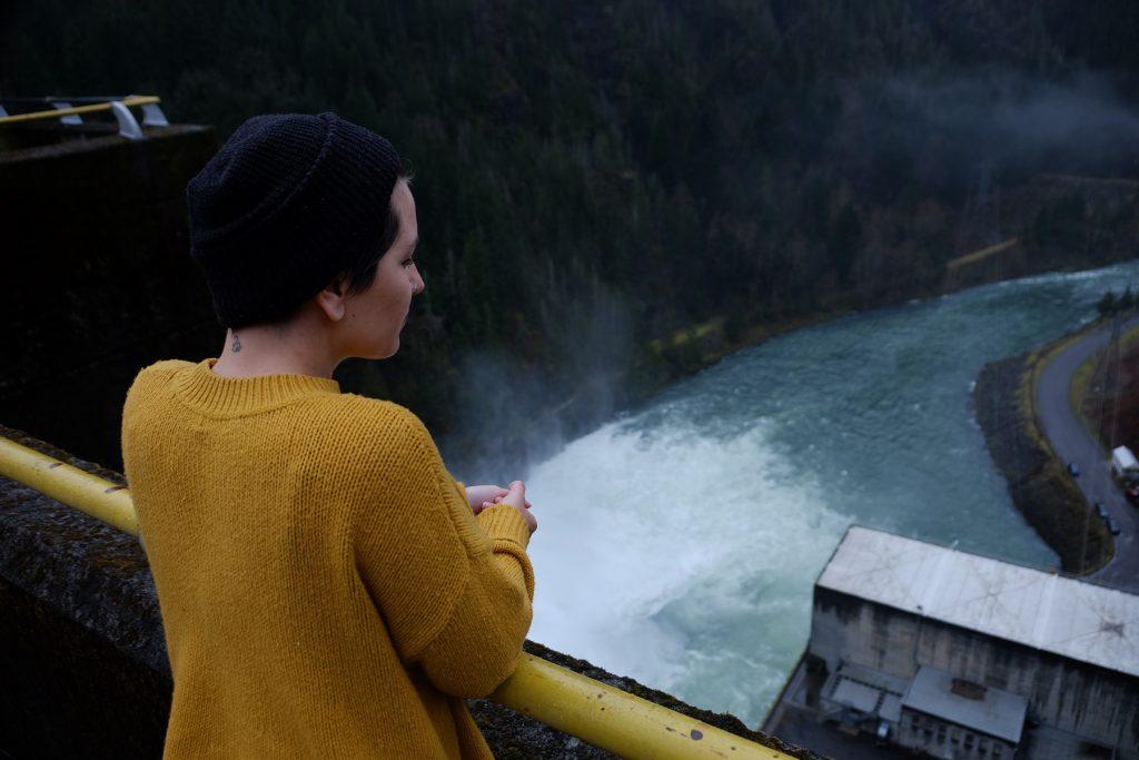 Crédit photo: Martin Amiot | Lieu: Barrage de Détroit sur la rivière North Santiam, Oregon