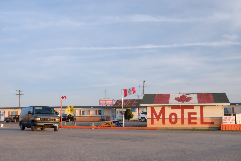 Crédit photo: Laura Lee Moreau |Lieu: Motel Sweet Dreams, Broadview, Saskatchewan