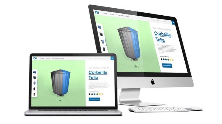 UX/UI design pour NI Corporation, réalisé avec Nomadinteractif et Aanagram