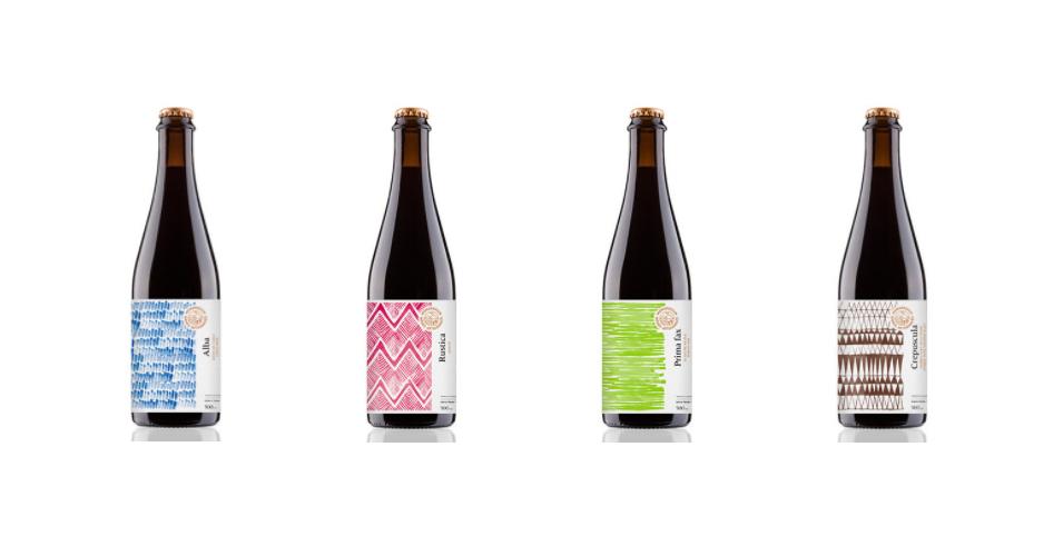 Les étiquettes uniques et graphiques des bières artisanales MonsRegius