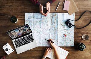 Destination voyage pour travailler