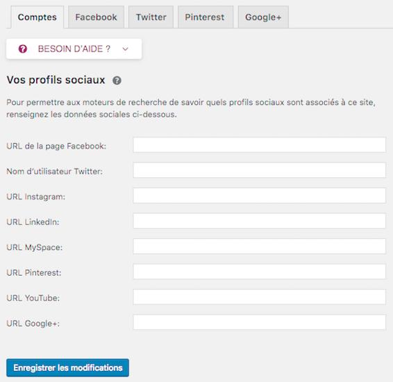 Lier le contenu WordPress aux réseaux sociaux est excellent pour le référencement naturel