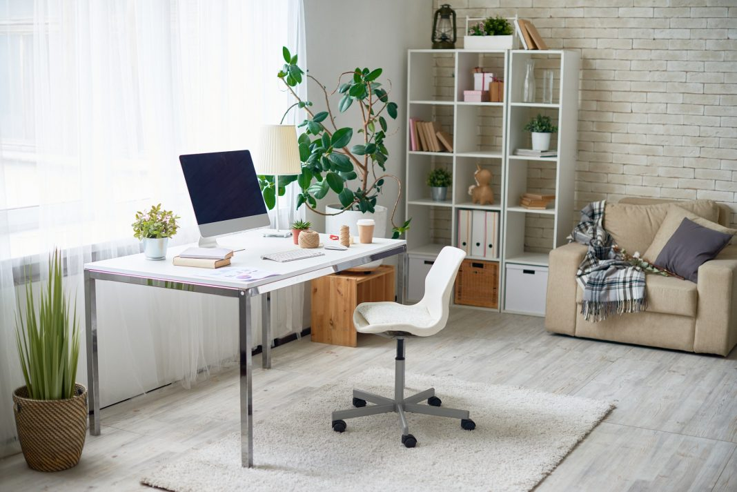 Bureau à la maison inspirant