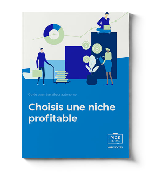Guide PIGE pour travailleur autonome - Choisi une niche profitable